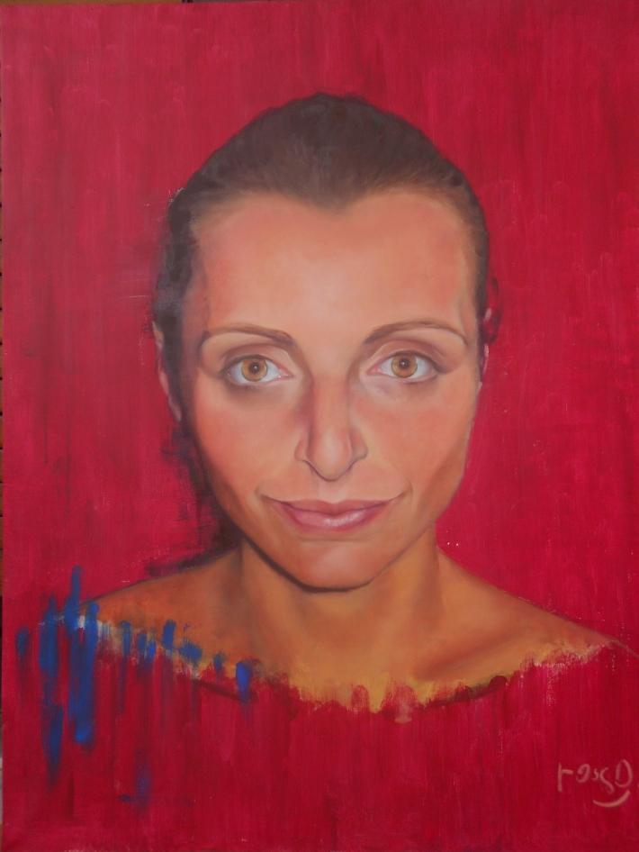 oils and acrylics on canvas (100 x 70 cm)