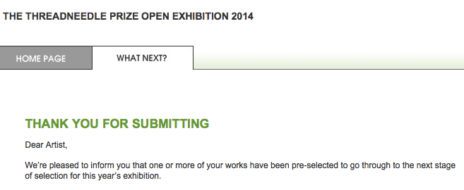 Threadneedle Prize 2014