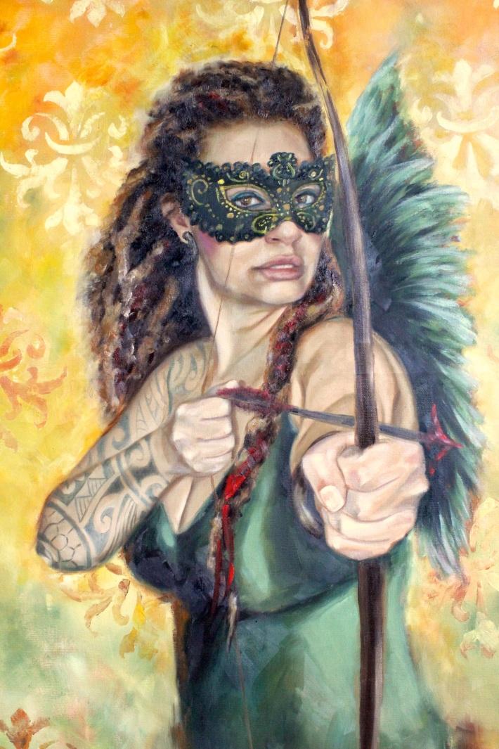 the love warrior, detail